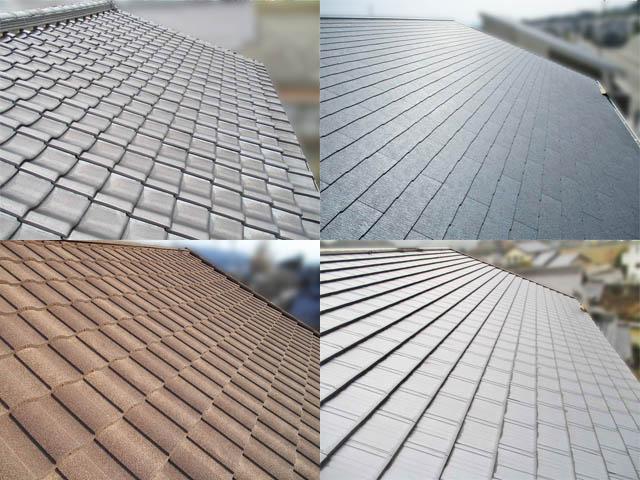 色々な屋根、全部塗装できるのでしょうか。