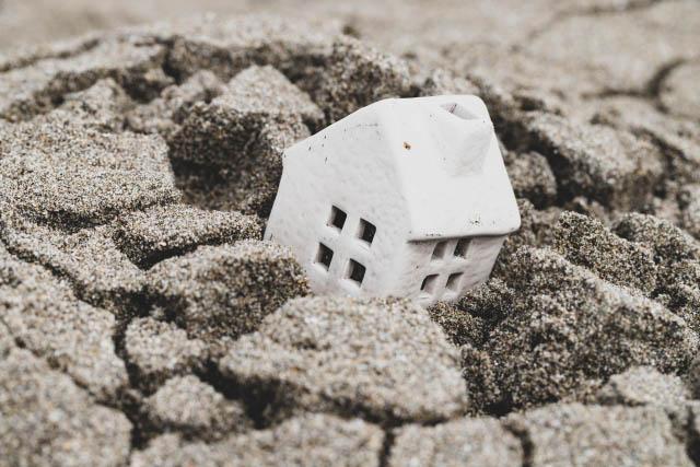 地震災害の時の屋根の被害