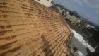 屋根剥ぎ後