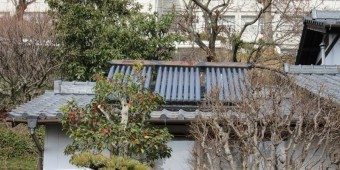太陽熱温水器 屋根