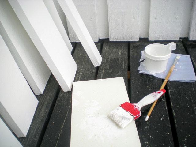 白色塗装のクールルーフ