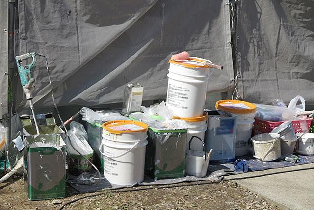 屋根塗装の準備イメージ
